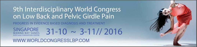 World Congress on Low Back Pelvic Girdle Pain